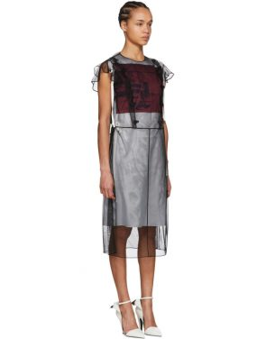 photo Black Tulle Layered Dress by Calvin Klein 205W39NYC - Image 2