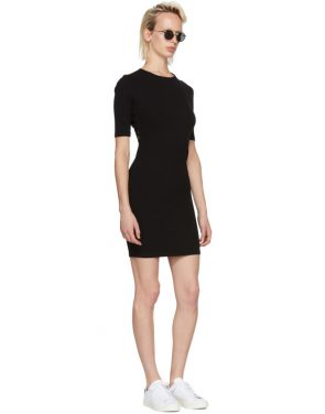 photo Black Rib Logo Dress by T by Alexander Wang - Image 5