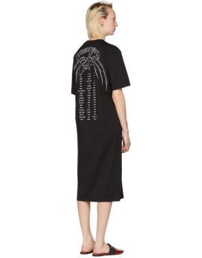 photo Black Lightning Bolt World Tour T-Shirt Dress by Givenchy - Image 3