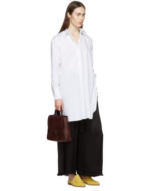 photo White Tunic Shirt Dress by Rosetta Getty - Image 5