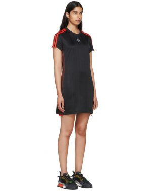 photo Black Track Dress by adidas Originals by Alexander Wang - Image 2
