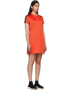 photo Red Track Dress by adidas Originals by Alexander Wang - Image 2