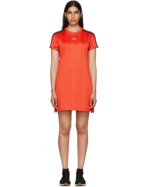 photo Red Track Dress by adidas Originals by Alexander Wang - Image 1