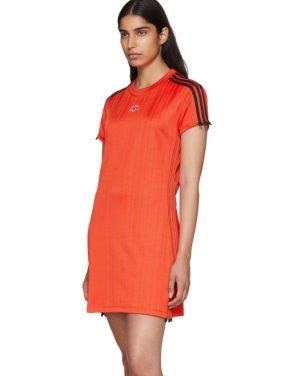 photo Red Track Dress by adidas Originals by Alexander Wang - Image 4