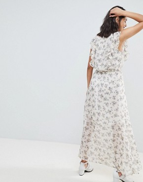 photo Floral Print Maxi Dress by Sofie Schnoor, color Flower Print - Image 2