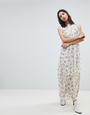 photo Floral Print Maxi Dress by Sofie Schnoor, color Flower Print - Image 1