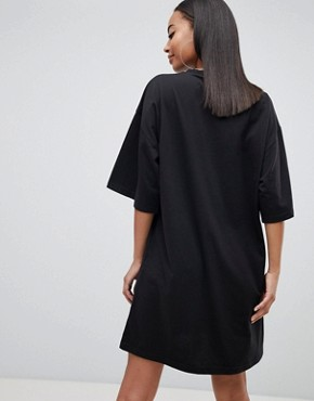 photo T-Shirt Dress 'Limited Edition' by Missguided Tall, color Black - Image 2