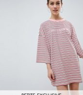 photo 'You Know It Girl' T-Shirt Dress by Missguided Petite, color Pink - Image 1
