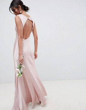 photo Bridesmaid Maxi Dress in Boudior Pink by Ghost, color Boudoir Pink - Image 2