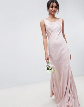 photo Bridesmaid Maxi Dress in Boudior Pink by Ghost, color Boudoir Pink - Image 1