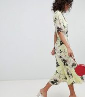 photo Floral Pretty Tea Dress by Ghost, color Ruth Bloom - Image 4