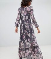 photo Long Sleeve Printed Maxi Dress by Ghost, color Lilia Bloom - Image 2
