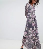 photo Long Sleeve Printed Maxi Dress by Ghost, color Lilia Bloom - Image 1