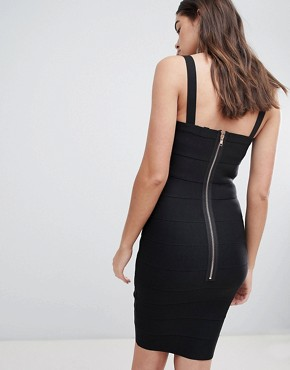 photo Studded Bandage Dress by New Look, color Black - Image 2