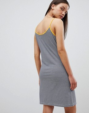 photo Cami Dress in Stripe with Slogan by the Ragged Priest, color Stripe - Image 2