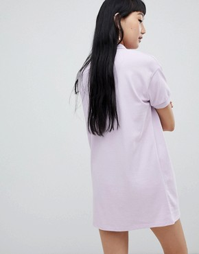 photo Rugby Dress in Colourblock Lilac by Pull&Bear, color Lilac - Image 2