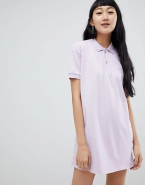 photo Rugby Dress in Colourblock Lilac by Pull&Bear, color Lilac - Image 1