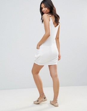 photo Slip Dress by See U Soon, color Off White - Image 2