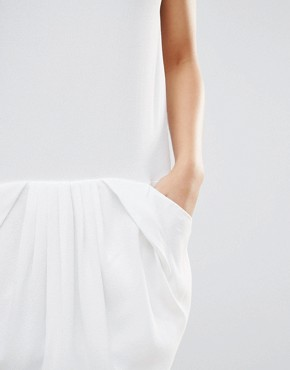 photo Slip Dress by See U Soon, color Off White - Image 3