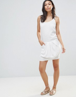 photo Slip Dress by See U Soon, color Off White - Image 4