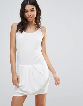 photo Slip Dress by See U Soon, color Off White - Image 1