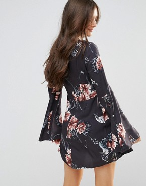 photo Homecoming Floral Dress by Somedays Lovin, color Multi - Image 2