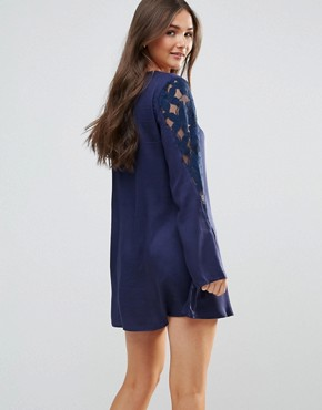 photo Only in Dreams Tunic Dress by Somedays Lovin, color Midnight - Image 2
