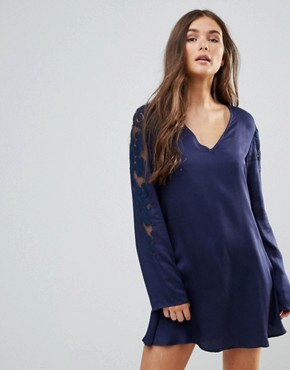photo Only in Dreams Tunic Dress by Somedays Lovin, color Midnight - Image 1
