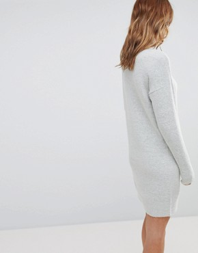 photo Jumper Dress by b.Young, color Light Grey - Image 2
