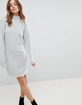 photo Jumper Dress by b.Young, color Light Grey - Image 1