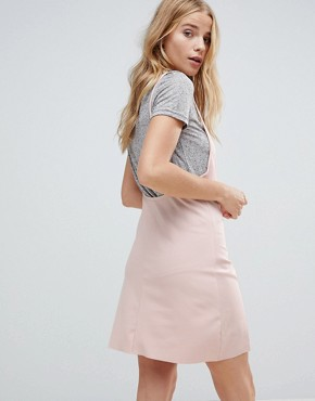photo Patch Slip Dress with T-Shirt by Minkpink, color Dusty Pink - Image 2