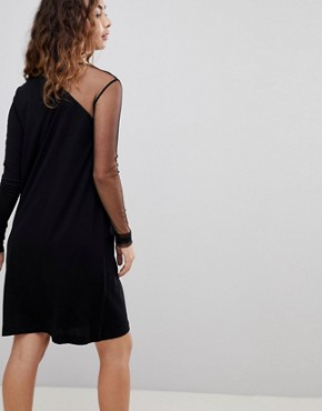 photo Claim Shift Dress by Cheap Monday, color Black - Image 2