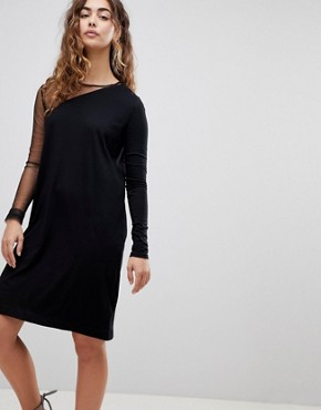 photo Claim Shift Dress by Cheap Monday, color Black - Image 1