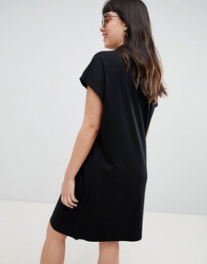 photo High Neck Dress by Weekday, color Black - Image 2