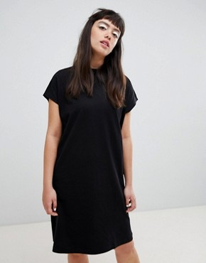 photo High Neck Dress by Weekday, color Black - Image 1