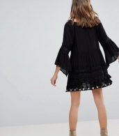 photo Ginger Tunic Dress by Raga, color Black - Image 2