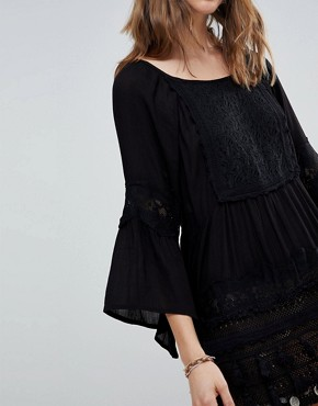 photo Ginger Tunic Dress by Raga, color Black - Image 3