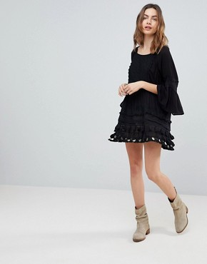 photo Ginger Tunic Dress by Raga, color Black - Image 4