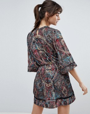 photo Kenzie Printed Shift Dress by d.RA, color Asian Kaleid - Image 2