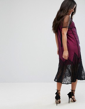 photo Bright Embroidery Mesh Dress by ASOS Maternity, color Black - Image 2