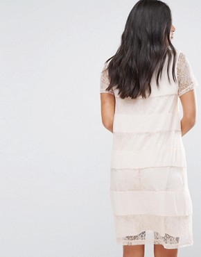 photo Lace Swing Dress by Vila, color Silver Peony - Image 2