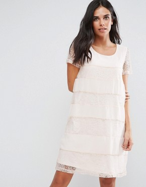 photo Lace Swing Dress by Vila, color Silver Peony - Image 1