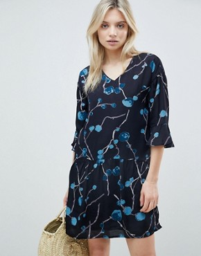 photo Abstract Floral Dress by b.Young, color  - Image 1