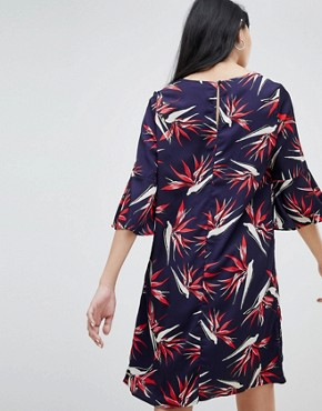photo Palm Print Dress by b.Young, color  - Image 2