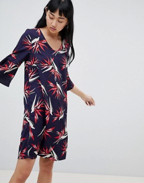 photo Palm Print Dress by b.Young, color  - Image 1