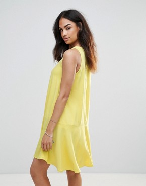 photo Swing Dress by FRNCH, color Yellow - Image 2