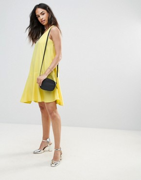 photo Swing Dress by FRNCH, color Yellow - Image 4