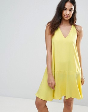 photo Swing Dress by FRNCH, color Yellow - Image 1