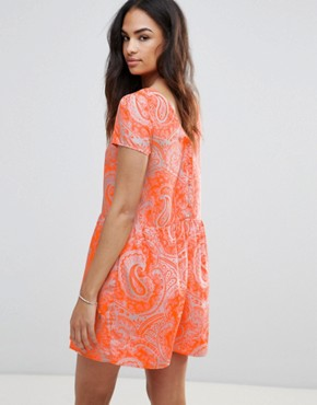 photo Paisley Dress by FRNCH, color Orange - Image 2