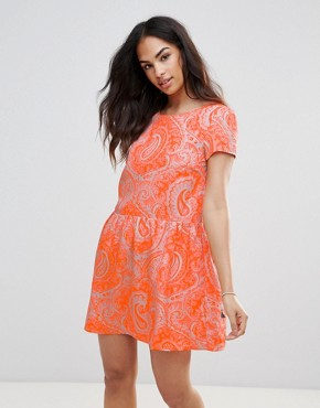 photo Paisley Dress by FRNCH, color Orange - Image 1